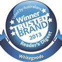 Readers Digest Trusted Brand Winner 2013