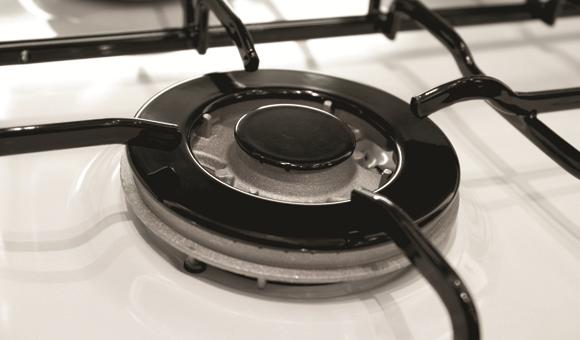 Triple ring wok burner