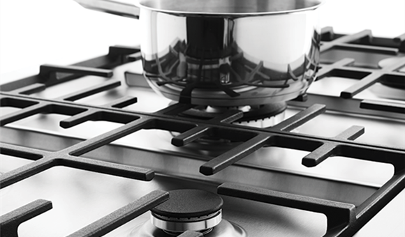 how to clean gas cooktop trivets