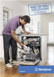 Westinghouse Dishwasher Brochure