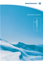 Kelvinator Refrigeration Brochure