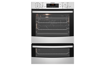 stainless steel multifunction duo oven wve626s westinghouse wve626s hero png