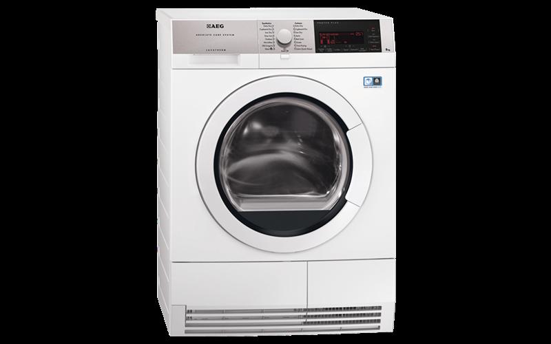 AEG ProTex 9 Series 8kg Heat Pump Dryer T97689IH