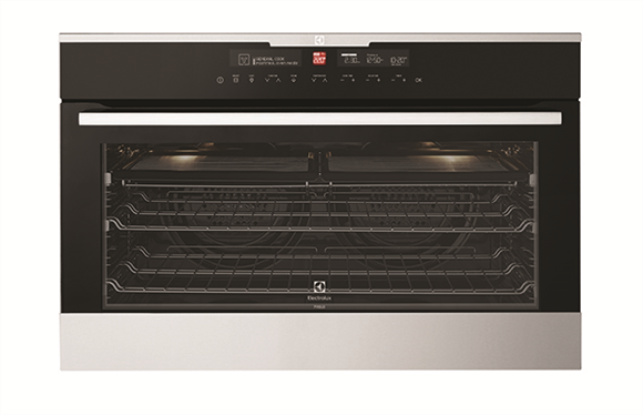 stainless steel 90cm builtin oven evep916sb