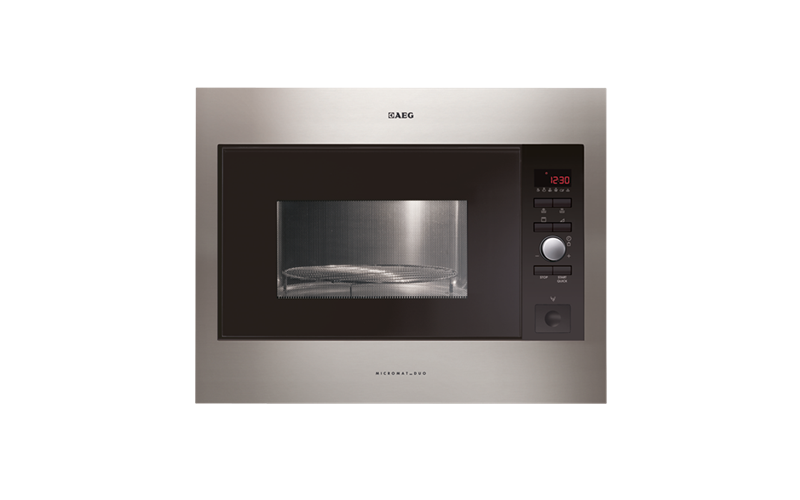 AEG Bulit-In Duo Microwave with Grill MCD2664E-M