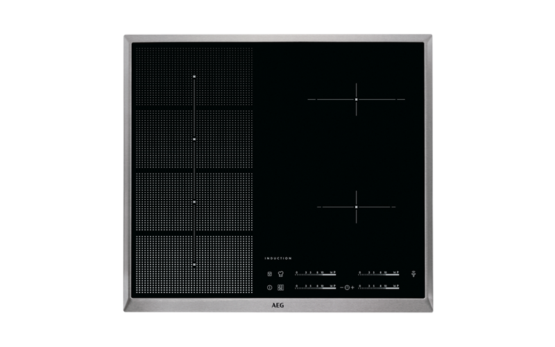 AEG 60cm 4 Zone H2H Induction Cooktop HKP65410XB